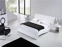 מיטת עור BB-E066