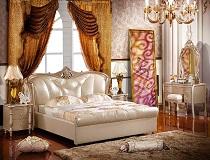 מיטת יוקרה מעור B-M1003B