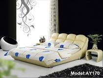 מיטת דמוי-עור דגם A-AY170