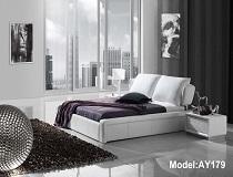 מיטת דמוי-עור דגם A-AY179B