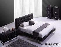 """מיטת דמוי-עור דגם """"מיכאלה"""" A-AY233"""