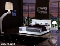 מיטת דמוי-עור דגם A-AY263
