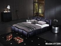 מיטת דמוי-עור דגם A-AY266