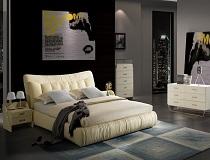 מיטת דמוי-עור דגם A-AY336