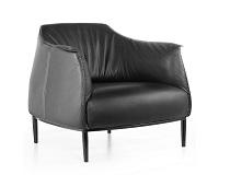 כורסא מודרנית מעוצבת שחורה דגם רפאלו F-SF005-1-B