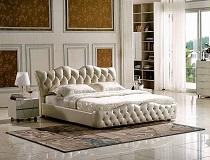 """מיטה מעוצבת מרופדת דגם """"קיס"""" G-A8618"""