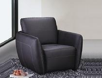 כורסא מודרנית מעור דגם F-FM097
