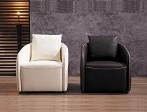 כורסא מעוצבת מעור דגם F-FM290