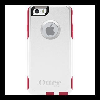 Commuter לבן/ורוד ל iPhone 6