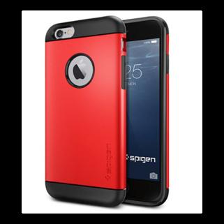 Slim Armor אדום ל iPhone 6