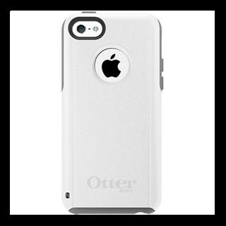Commuter לבן/אפור ל iPhone 5c