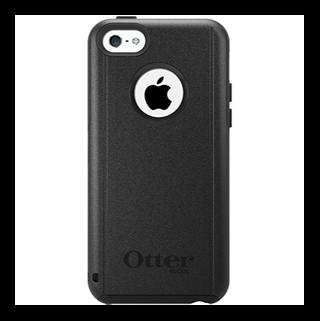 Commuter שחור ל iPhone 5c