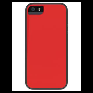 Glow אדום/אפור ל iPhone 5/5s