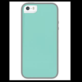 Glow טורקיז/אפור ל iPhone 5/5s