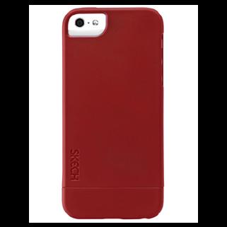 Hard Rubber אדום ל iPhone 5/5s
