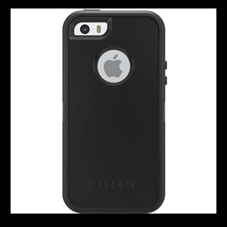 Defender שחור ל iPhone 5/5s