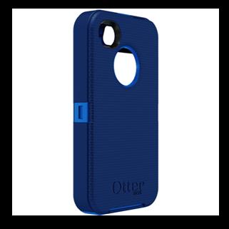 Defender כחול ל iPhone 4/4s