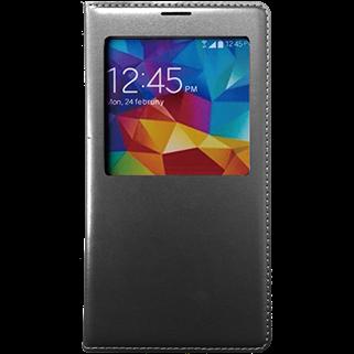 Smart Book שחור ל Galaxy S5