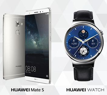 שעון חדש וסמארטפון Huawei במחיר מיוחד
