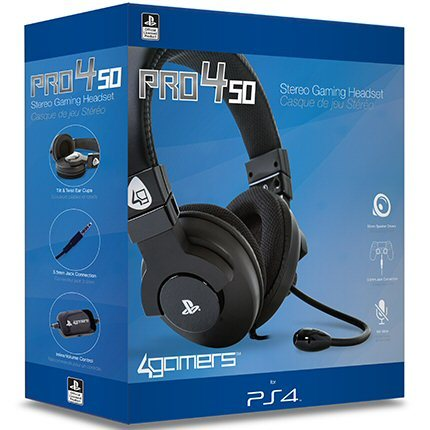 אוזניות גיימינג PS4 PRO4 50 Stereo Gaming Headset