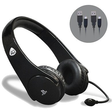 אוזניות גיימינג PS4 PRO4 20 Stereo Gaming Headset Starter Kit - Sony