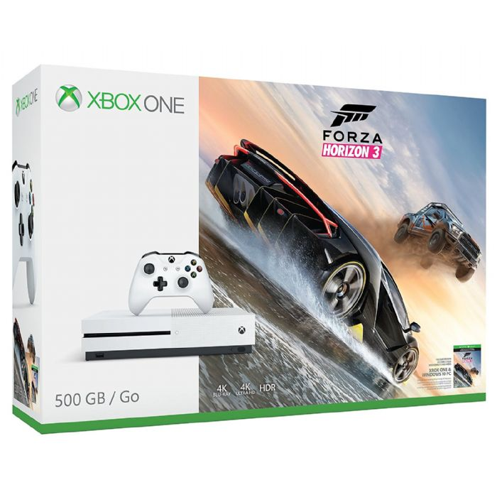 Microsoft Xbox One S 500GB Forza Horizon 3 Bundle