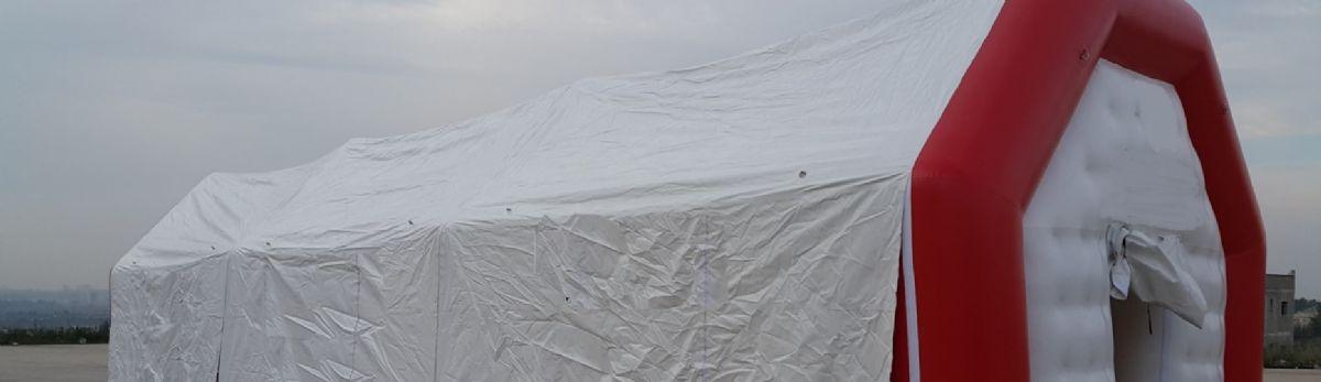 אוהל מתנפח גדול