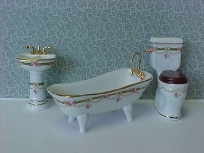 חדר אמבטיה מיניאטורי