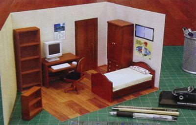 חדר ילדים מיניאטורי