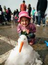 שלג בנוה גן - שנה רביעית ברציפות !