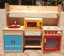 מטבח מעץ לילדים מסוג מירנדה