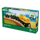 BRIO רכבת לנשיאת עצים 33775