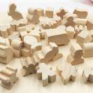 דמויות עץ מעורבות 80884