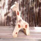 חיות מעץ- צעצועי וולדורוף-ג'ירפה 901003- צעצועים אנתרופוסופים