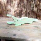 חיות מעץ- צעצועי וולדורוף-תנין 901004- צעצועים אנתרופוסופים