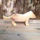 חיות מעץ- צעצועי וולדורוף-לביאה 901005- צעצועים אנתרופוסופים
