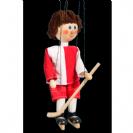 מריונטה שחקן הוקי 1640