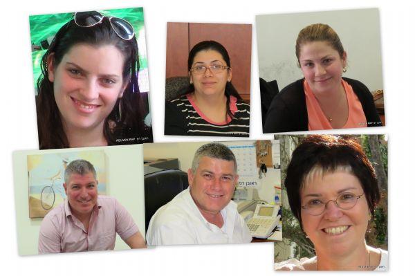 תמונות צוות המשרד