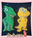 עוגיות מעוצבות רכבת הדינוזאורים