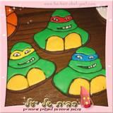 עוגיות מעוצבות צבי נינג´ה