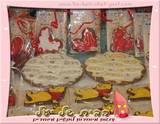 עוגיית ענק צלחת פסח - ניתן לרשום הקדשה אישית   בלעדי לבית של יעל