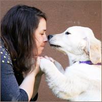 גוני סער, מטפלת בעזרת כלבים בילדים ובבני נוער