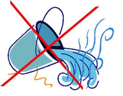 אין לשפוך מים חמים לבריכת הנוי בחורף