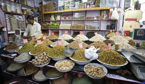 חנות תבלינים בצ'אנדני צ'וק - Chandni Chowk