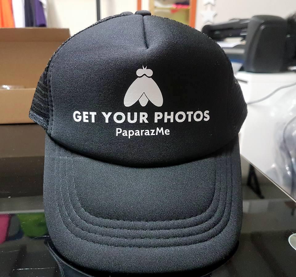 כובע רשת שחור למיתוג