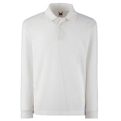 חולצת פולו שרוולים ארוכים להדפס
