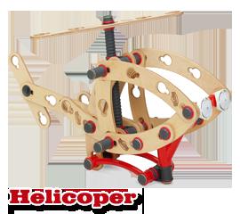 משחק הרכבה Moov Helicopter