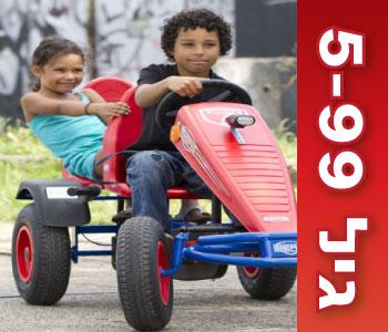מכוניות פדלים לגילאי 5 עד 99