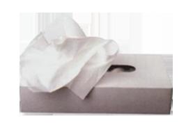 טופז ממחטות טישו תאית דו שכבתי - קופסא