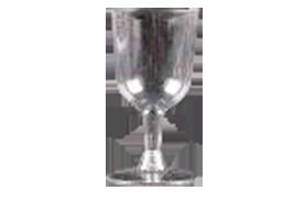 כוס יין + רגל מתפרקת 140cc